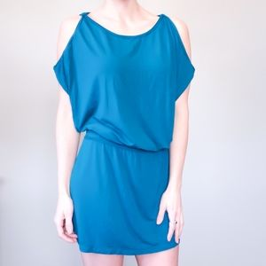 3/$30 Studio M Cold Shoulder Swim Cover Up Dress